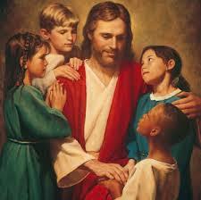 jesus e crianças